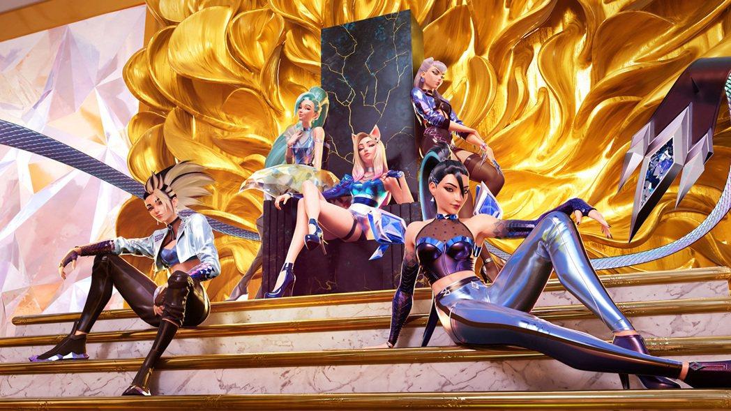 K/DA 是《英雄聯盟》虛擬偶像團體