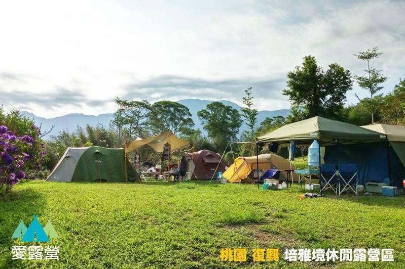 圖/取自愛露營 培雅境休閒露營區臉書粉專。