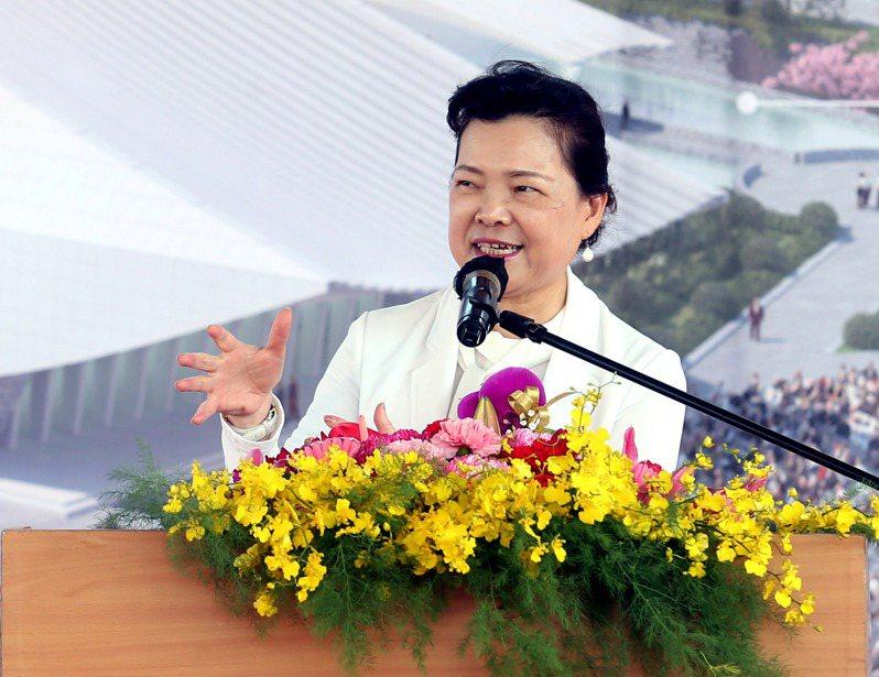 經濟部長王美花表示,目前尚未研議供四停三,還是維持中部地區供五停二的限水措施。記者邱德祥/攝影
