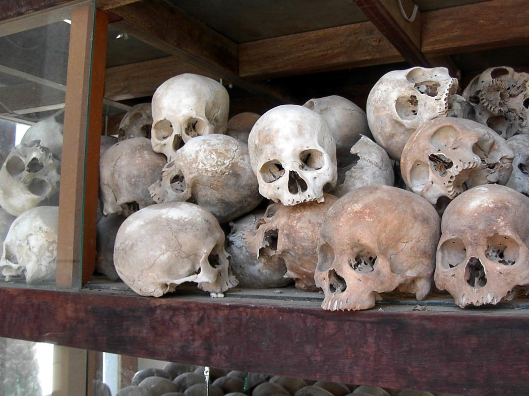 在紅色高棉執政期間,累積超過1萬4,000多人被關押至此,這些人多半是前朝高棉共...
