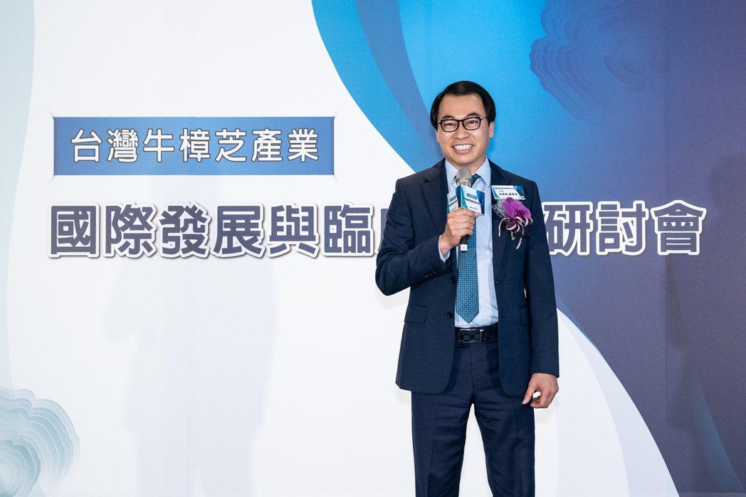 綠茵集團吳嘉峰董事長。 綠茵生技/提供