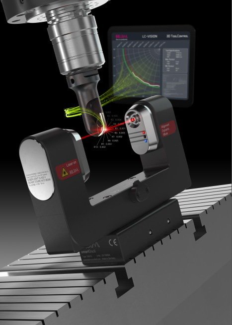 LC50 DIGILOG智慧型雷射量測系統具備高動態量測特性。 波龍/提供