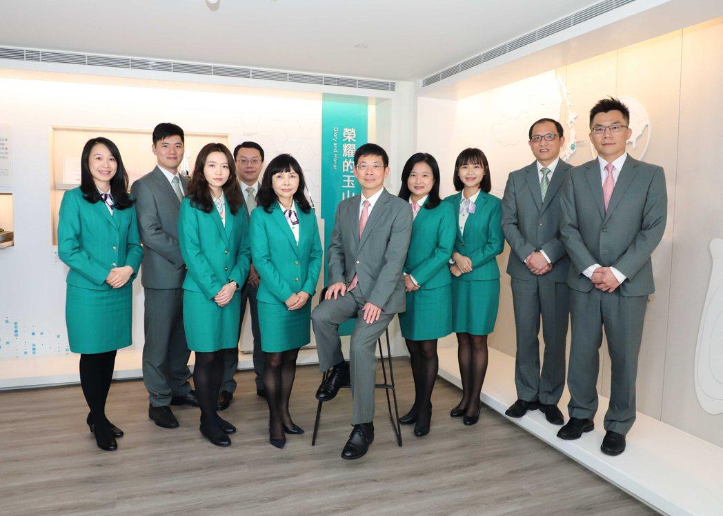 玉山金控榮獲「Sustainalytics ESG評鑑」全球綜合性銀行產業的亞洲...