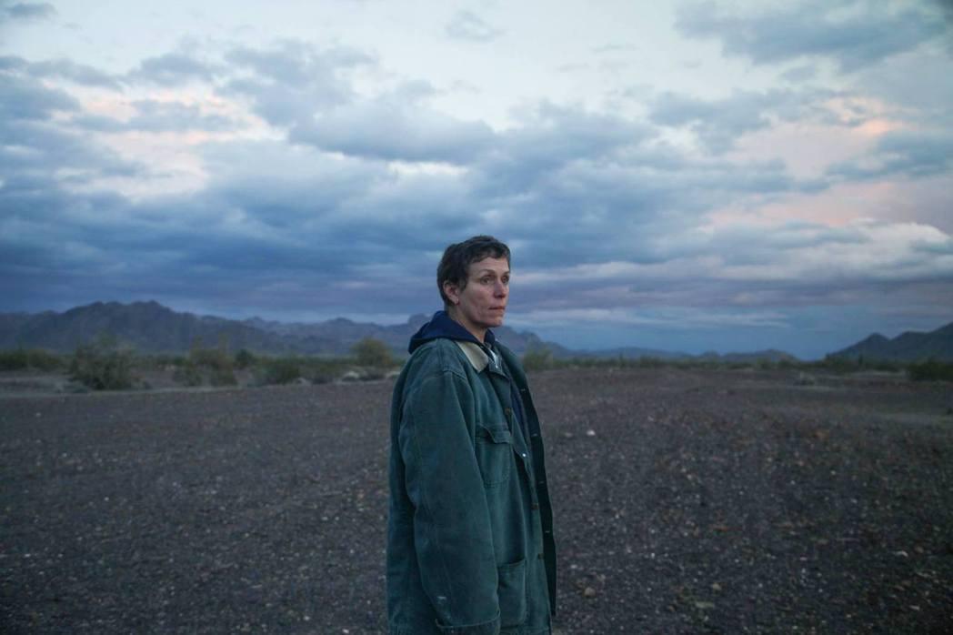 華人導演趙婷的美國公路電影「游牧人生」,英國影藝學院電影獎共奪得4項大獎。 圖/