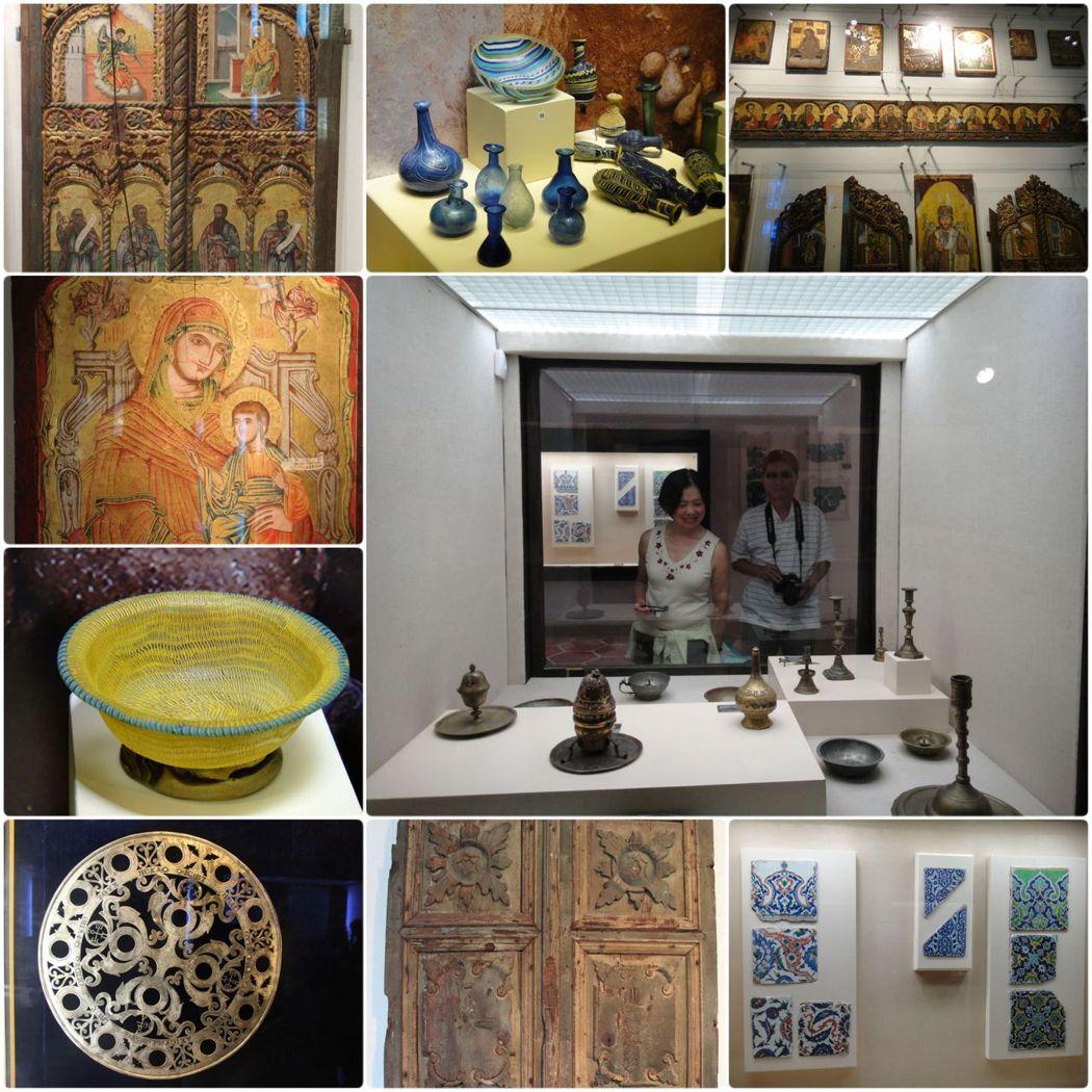 博物館除了雕像和石棺外,還有陶器、馬賽克、錢幣、畫像、教堂文物等,典藏非常豐富。