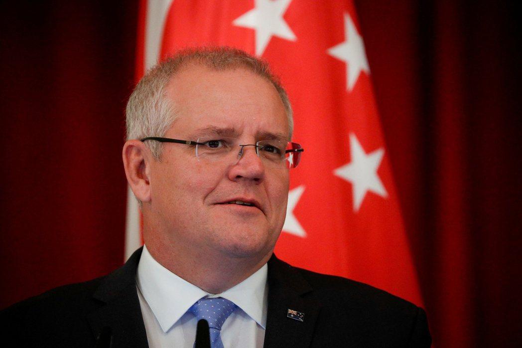澳洲總理莫里森(Scott Morrison)。(路透)