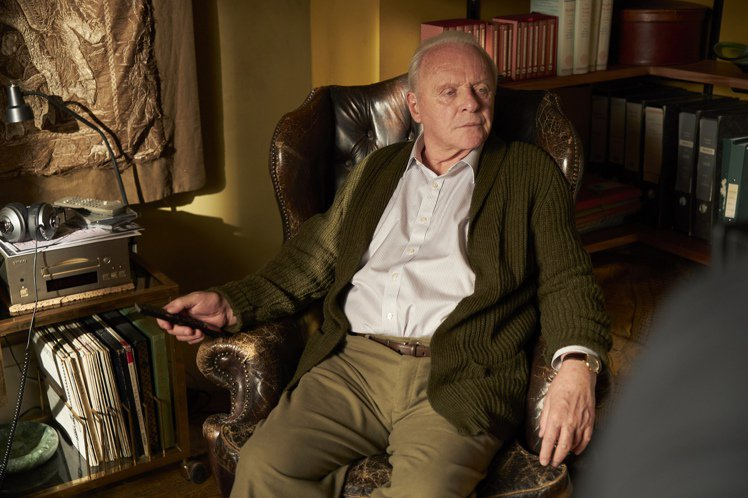 安東尼霍普金斯在片中詮釋失智症患者。圖/采昌提供