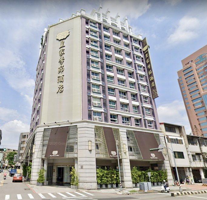 李方集團旗下的皇家季節酒店台中中港館。台灣房屋集團趨勢中心提供