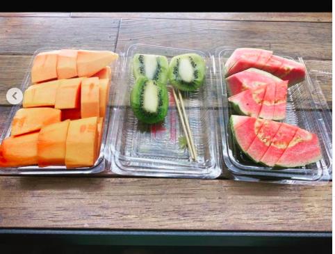 陳妍希的開工餐。圖/摘自IG