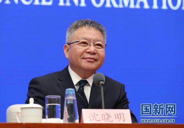 海南省委書記沈曉明表示,2030年海南不再銷售燃油汽車。(大陸國新辦)