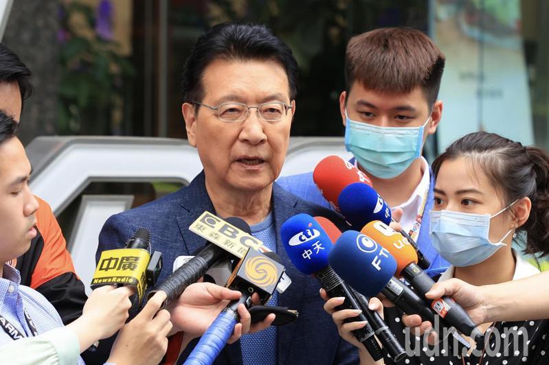 中廣董事長趙少康。記者林伯東/攝影