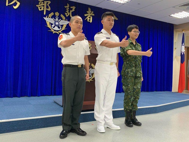 國防部去年舉行記者會宣布「國防學士班」進一步與台灣大學簽約。圖/聯合報系資料照片