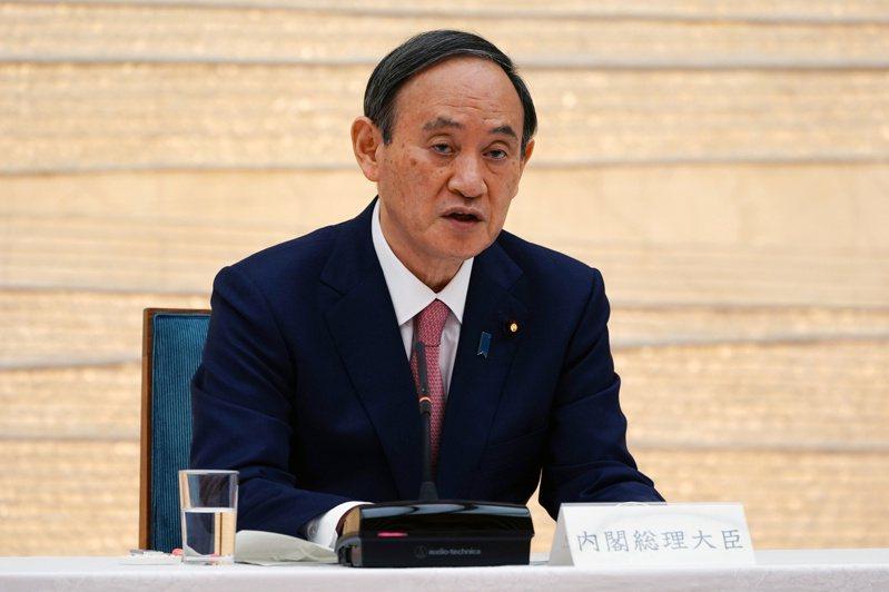 日本首相菅義偉。路透
