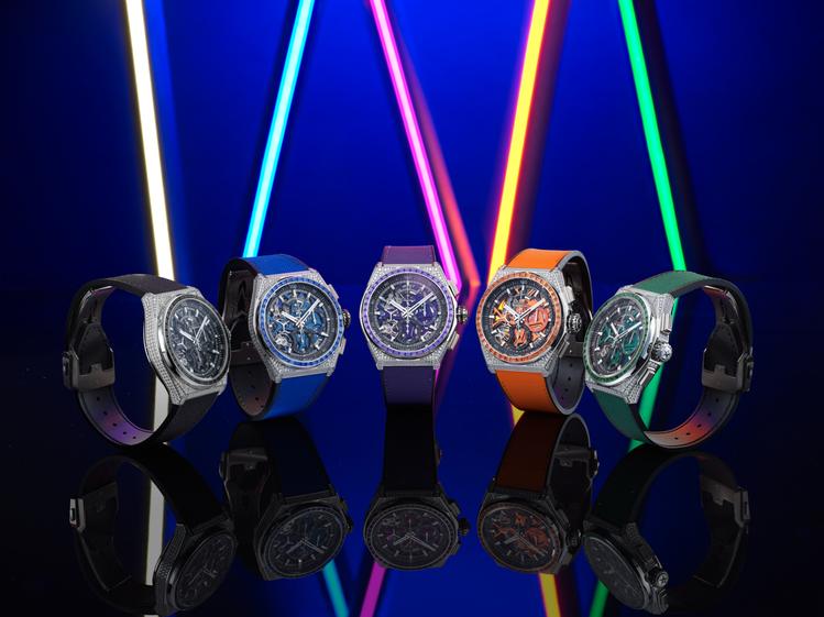DEFY 21 Spectrum系列腕表,售價未定,各限量發行10枚,僅於全球專...