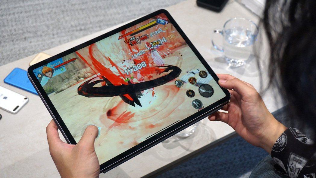 蘋果傳本月將推出新款iPad Pro。(本報系資料庫)