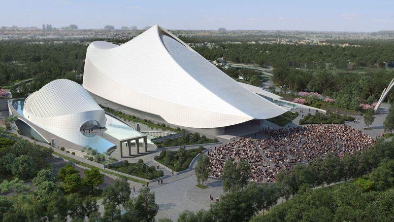 遠東國際會議中心12日動土。 圖/遠東集團提供