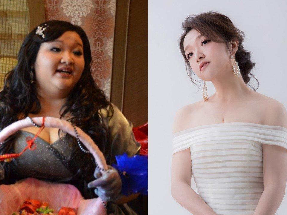 從130公斤瘦到65公斤,詹凱帆重拍婚紗照,作為送給自己的禮物。圖片由詹凱帆授權「有肌勵」刊登