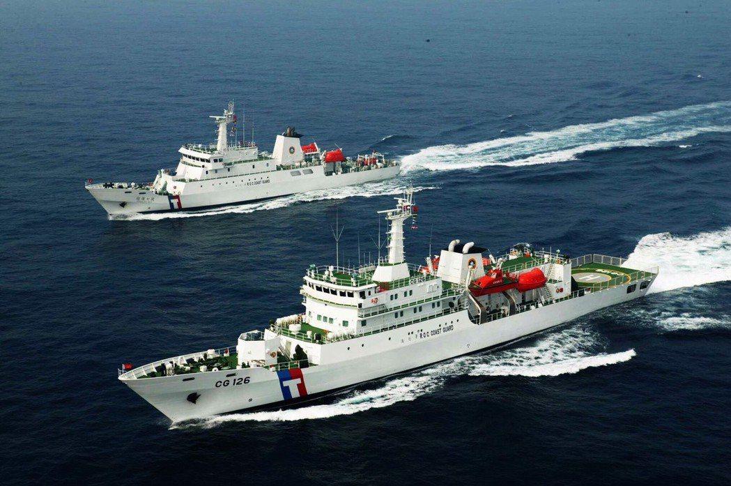 海巡署艦隊分署大型巡防艦。 圖/海巡署