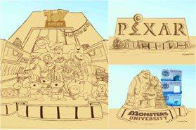 史上最狂「皮克斯x福隆沙雕季」5月登場!8公尺「玩具總動員沙雕」要搶拍,靈魂急轉彎也有