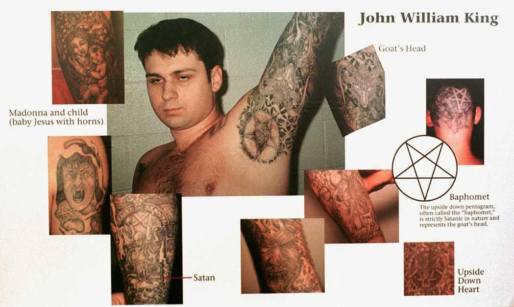 德州的黑人小詹姆斯伯德,無故遭到三名白人至上主義者的綁架後殘忍虐殺,圖為犯案兇手...