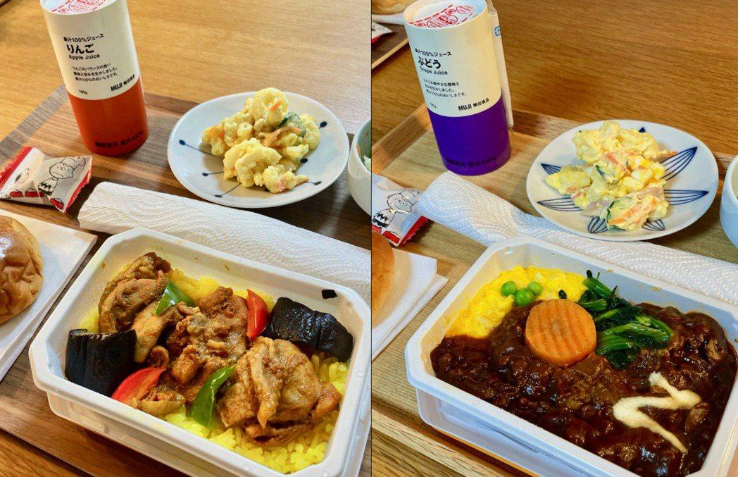 航空業大受疫情打擊,紛紛尋求生財之道,日本ANA全日空決定在網路上賣飛機餐。圖/...