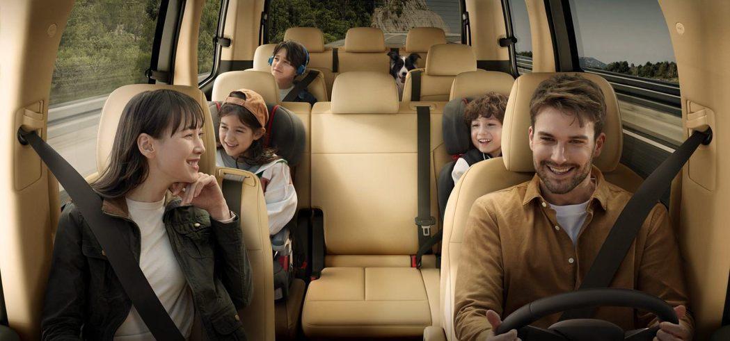 圖為11人座Staria Tourer。 摘自Hyundai