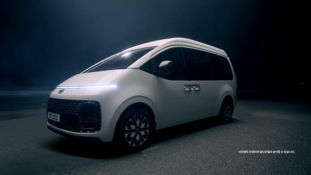 Hyundai Staria Lounge Limousine將在日後登場。 圖...