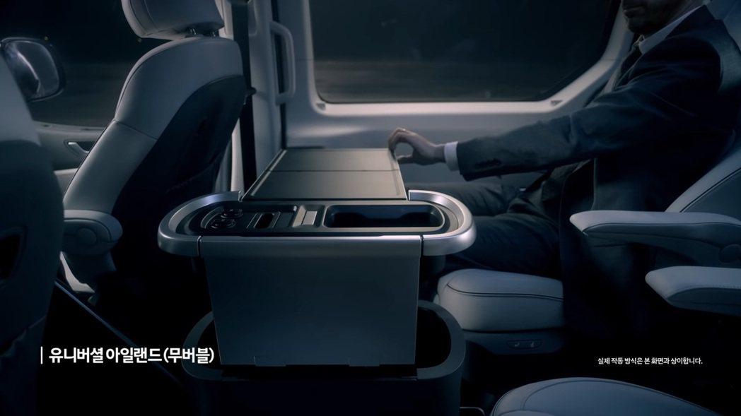 Hyundai Staria Lounge Limousine車室。 圖/截自현...