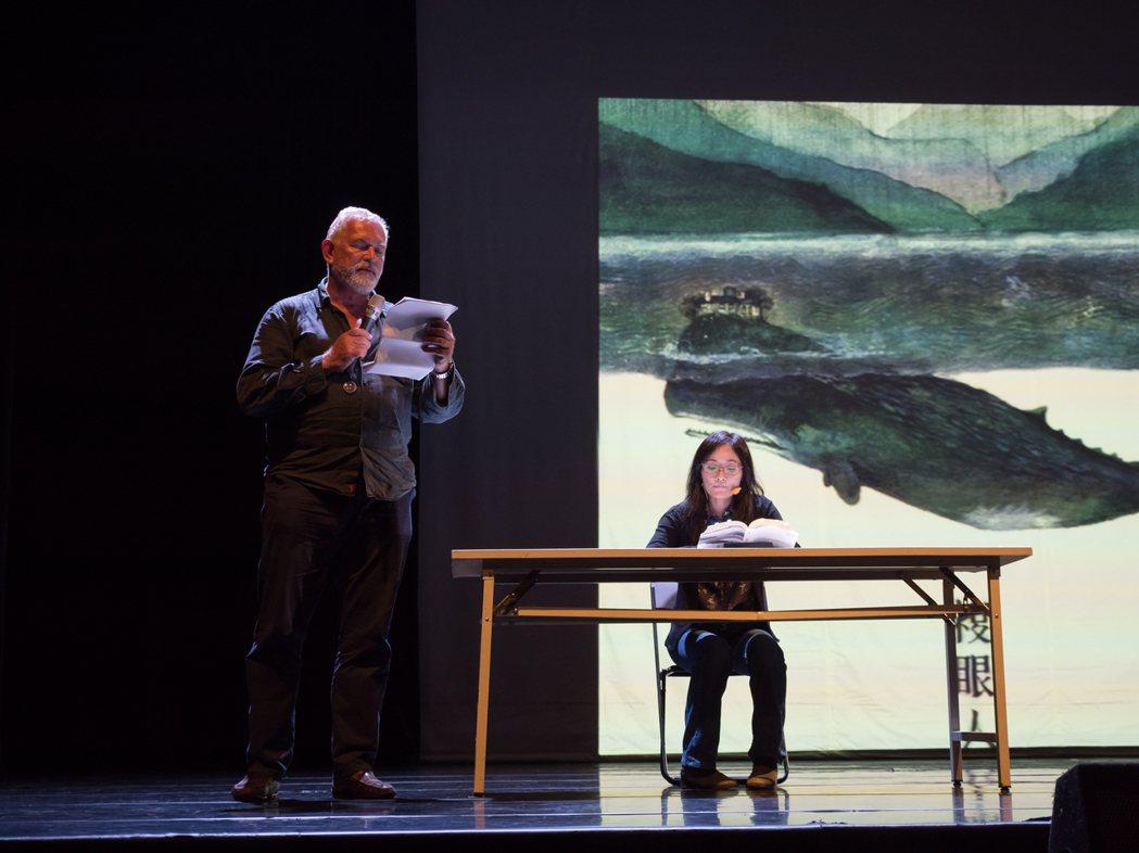 《複眼人》於2018年亞當計畫中前期呈現。 圖/台中國家歌劇院提供、王皓穎攝影
