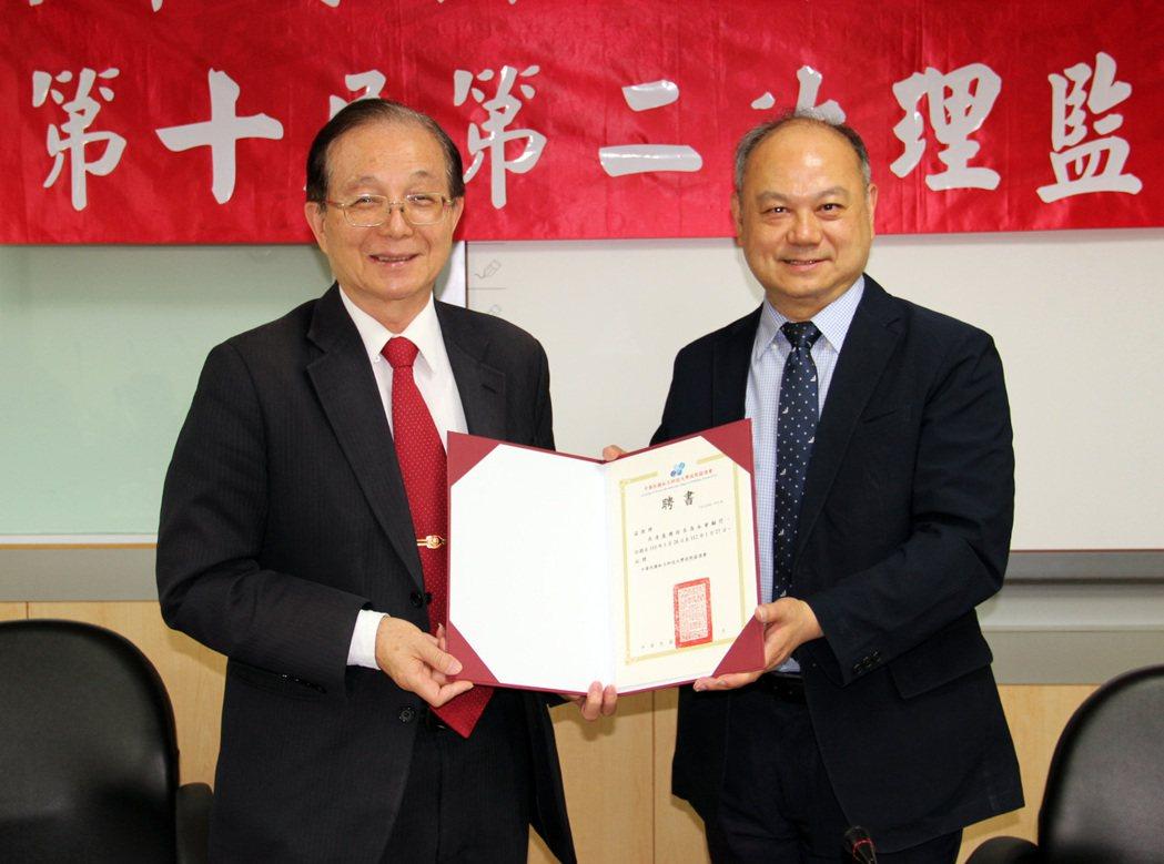 私立科大校院協進會敦聘前教育部長吳清基教授擔任顧問。龍華科技大學 /提供