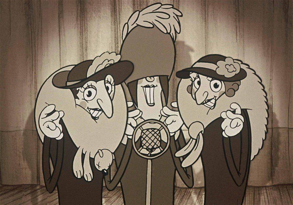 經典動畫電影「佳麗村三姊妹」睽違18年以數位修復版絢麗重登大銀幕,搭配搖擺爵士配
