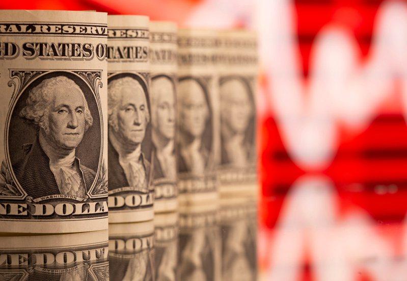 美國財政部今天表示,2020年10月到今年3月的6個月間,美國創下破紀錄的財政赤字。 路透社