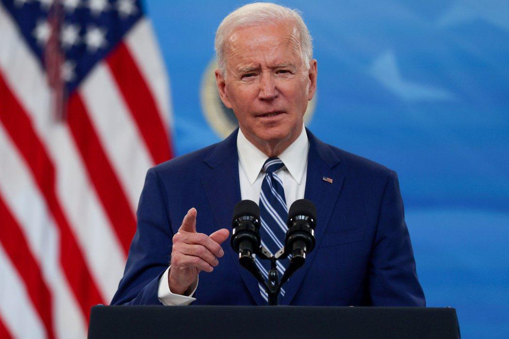 美國總統拜登(見圖)所提的稅改方案,將對美國跨國企業造成雙重衝擊。圖/路透