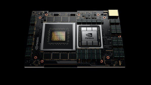 輝達首度發表伺服器CPU 。(取自網路)