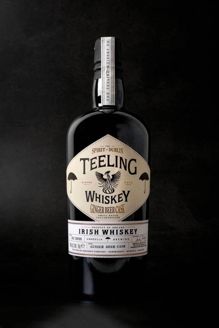 愛爾蘭天頂薑汁啤酒過桶威士忌,洋溢飽滿生薑與糖蜜氣息。圖/摘自Umbrella ...