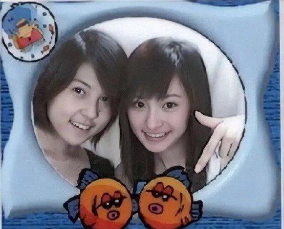 楊冪昔日的18歲大頭貼照片。圖/明星娛樂新聞微博