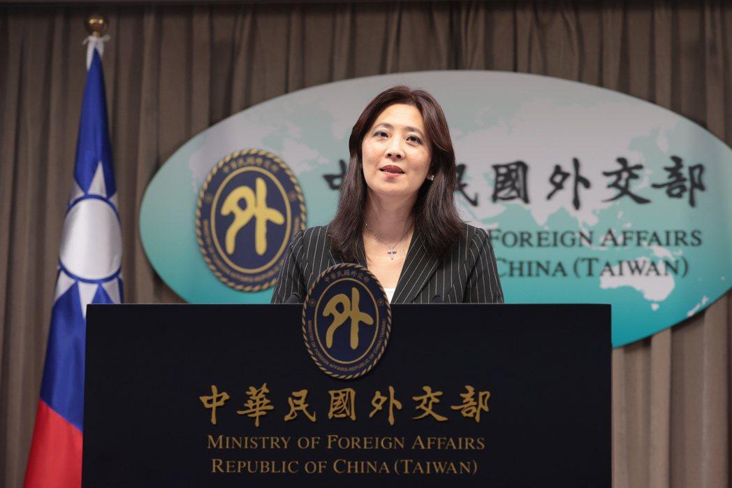 外交部發言人歐江安針對福島核廢水排入海等議題作出回應。記者蘇健忠/攝影