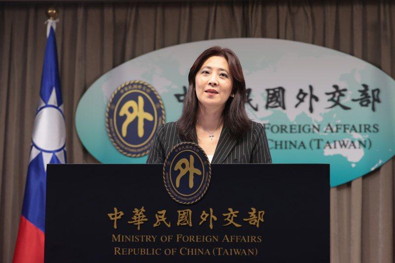 外交部發言人歐江安。聯合報系資料照/記者蘇健忠攝影