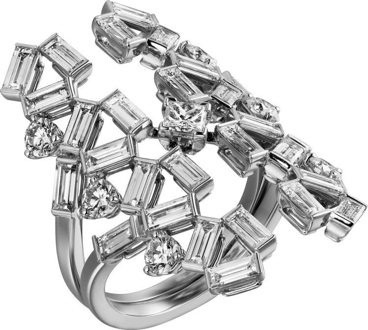 Reflection de Cartier鑽石戒指,約150萬元。圖/卡地亞提供