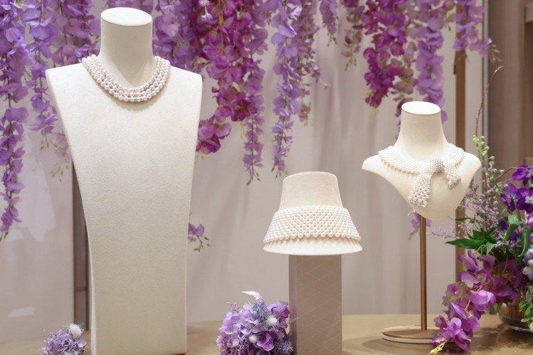 My Mikimoto, My Style頂級珠寶展,多款頂級珠寶展現品牌深厚工...
