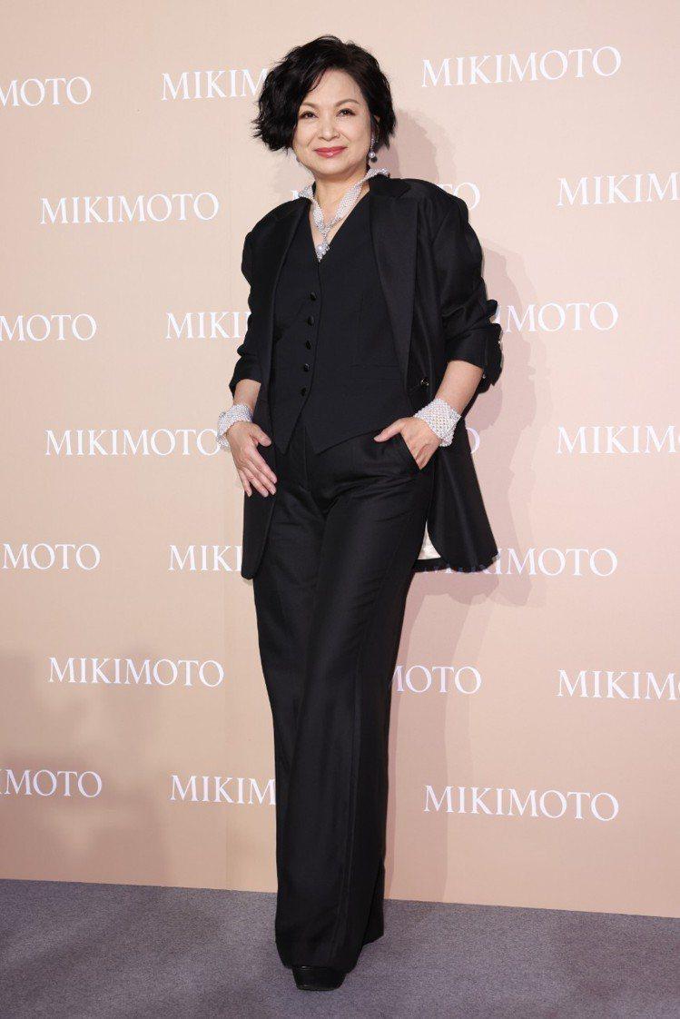 楊貴媚配戴MIKIMOTO珍珠珠寶出席My Mikimoto, My Style...