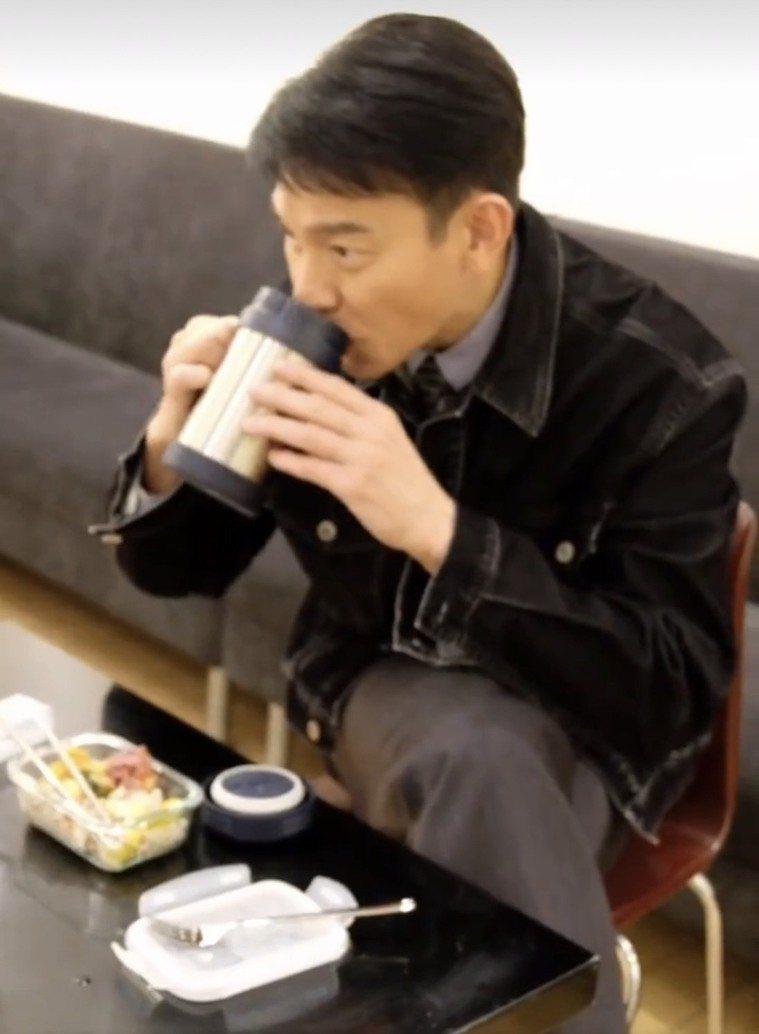 劉德華公開私下飲食習慣。圖/摘自微博