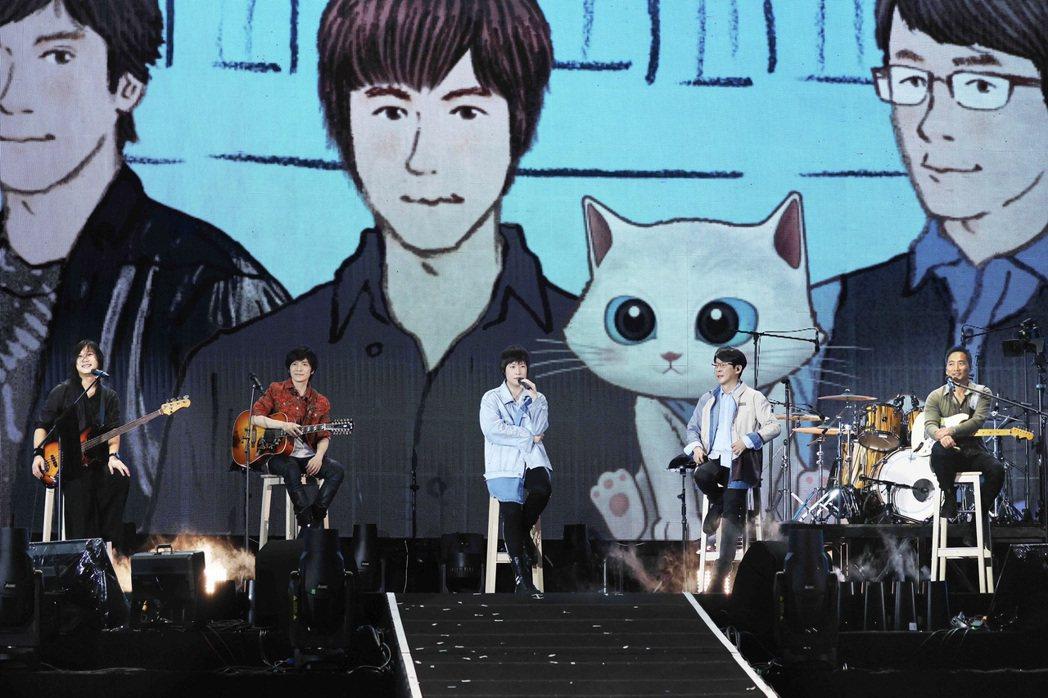 五月天甫完成「好好好想見到你」巡演台南場演出。圖/相信音樂提供