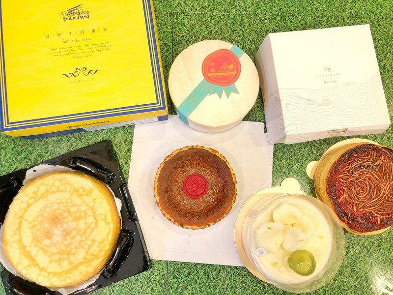 全家便利商店即日起至5月4日啟動第二波母親節預購,主打「冠軍名廚」及「必BUY名店」所獨家開發的特色蛋糕。圖/全家便利商店提供