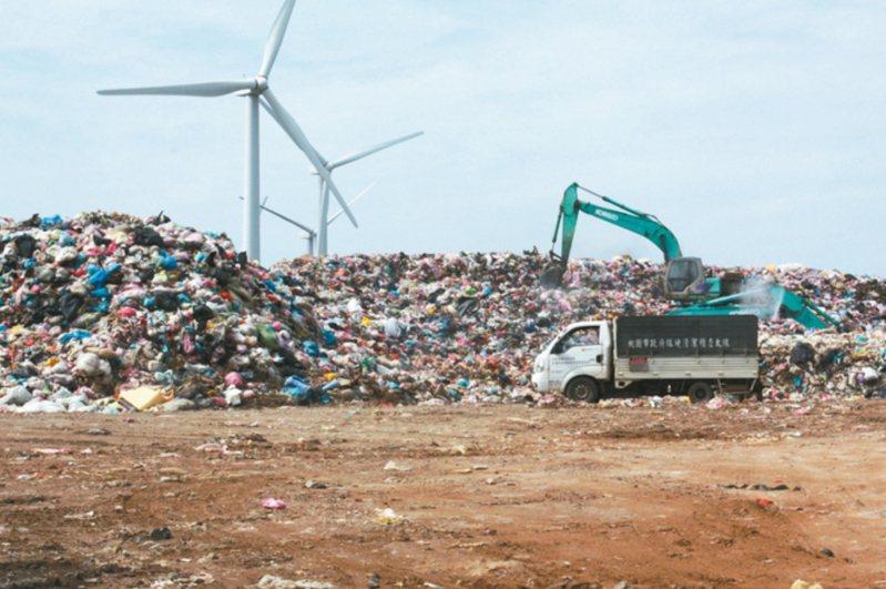 桃園市環保局和欣榮議約不順,如果再談不攏,恐爆發垃圾危機。本報資料照片