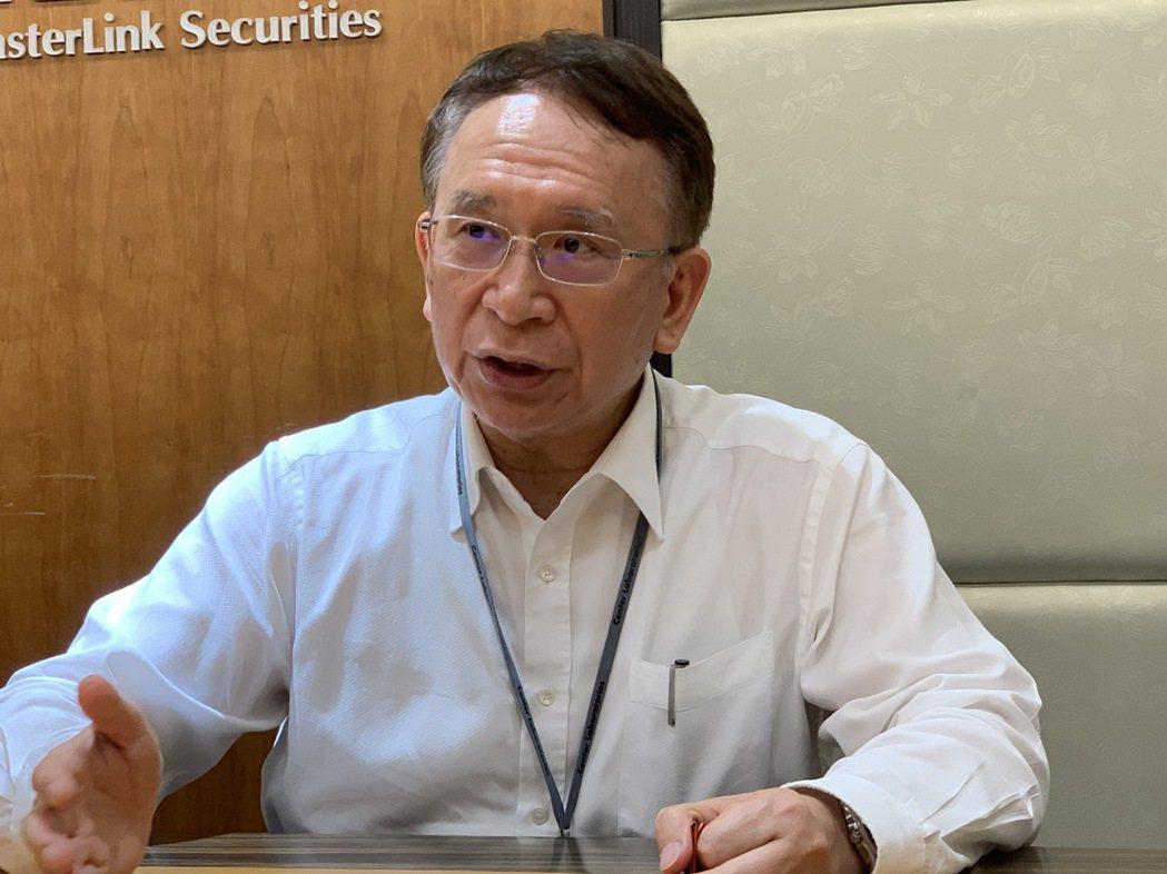 晟德集團董事長林榮錦。 記者謝柏宏/攝影