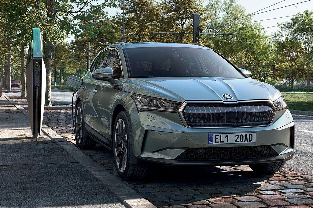 SKODA也將純電新作Enyaq iV納入品牌SUV陣容中,現在則已經有超過1,...