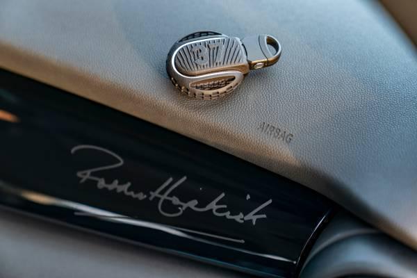 Paddy Hopkirk Edition專屬鑰匙飾蓋與內裝飾板。 圖/汎德提供
