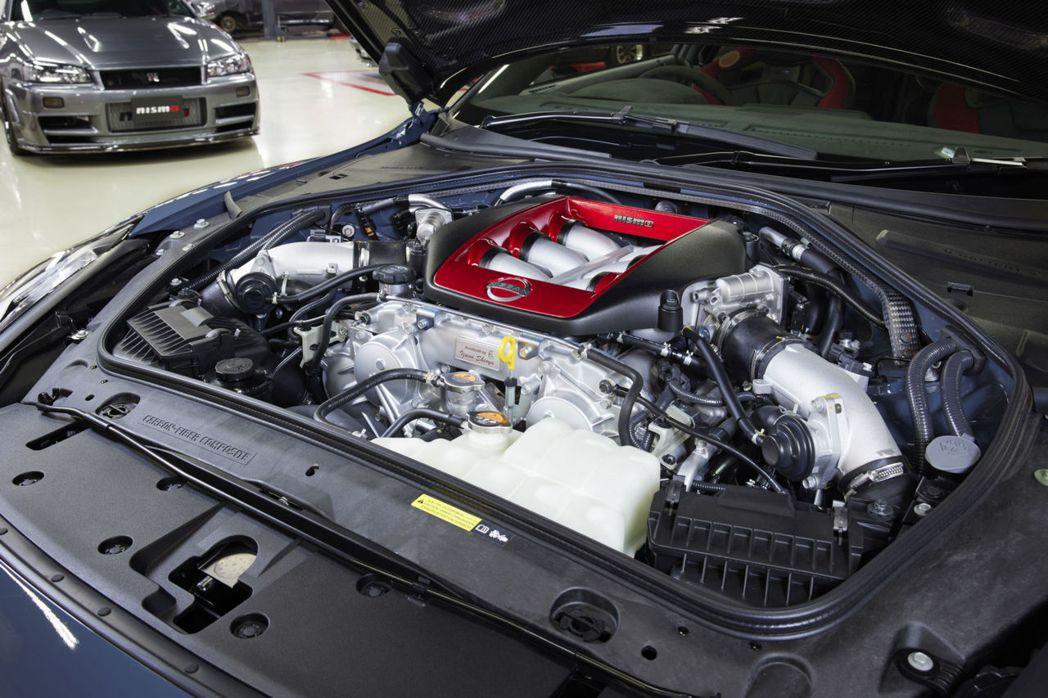 GT-R NISMO的VR38DETT 3.8升雙渦輪V6引擎,能輸出600ps...