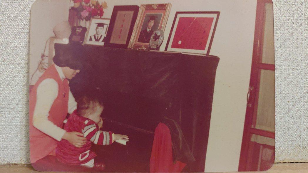 焦元溥四歲開始學鋼琴,但他坦言初期興趣不大,現在有些後悔。圖/焦元溥 提供